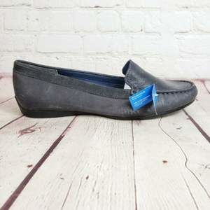 Rockport Soft Leather Moc Loafers Driving Shoes